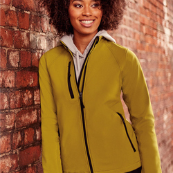 Jerzees Colours Ladies Soft Shell Jkt