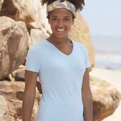 Lady-Fit V-Neck T-Shirt