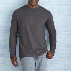 Gildan Mens Soft Style Long Sleeve Tee