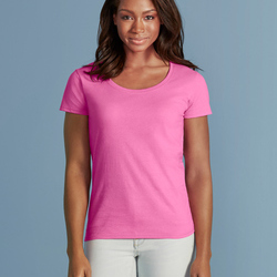 Gildan Ladies Deep Scoop Tee