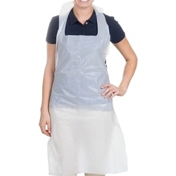 Disposable apron - white - pack of 30