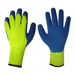 LATEX COLDSTAR GLOVE S/YELL 9