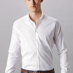 Kustom Kit Mens Stretch Oxford Shirt