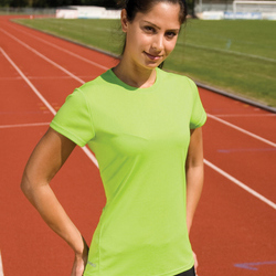 Spiro Ladies Quick Dry S/Sleeve T-Shirt