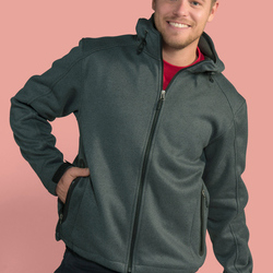 SG Mens Knitted Bonded Softshell Jacket