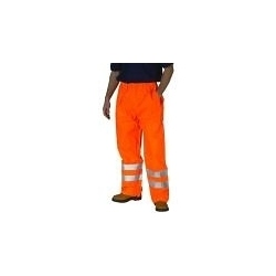 High Visibility Traffic Trousers Orange
