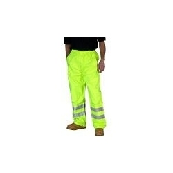 High Visibility Traffic Trousers Yellow