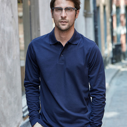 Tee Jays Mens Luxury Stretch L/S Polo