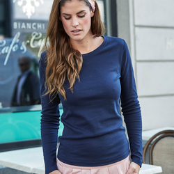 Tee Jays Lady Long Sleeve Interlock Tee
