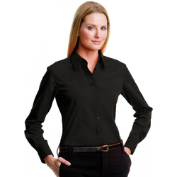 Kustom Kit Ladies L/S Workforce Shirt